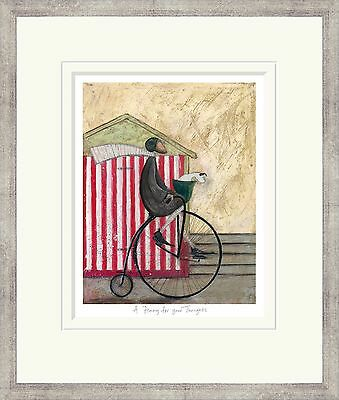 Sam Toft A Penny For Your Thoughts limited edition signed framed art print