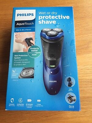 Philips AquaTouch AT887 Wet & Dry electric shaver with pop-up trimmer(Brand New)