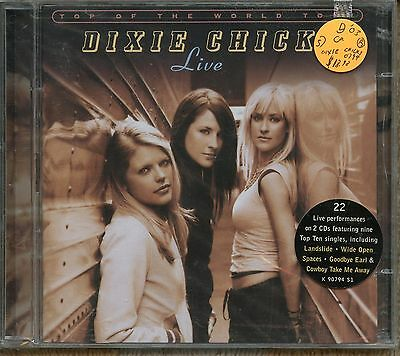 "DIXIE CHICKS, ""TOP OF THE WORLD TOUR: LIVE"",  double cd, SEALED"