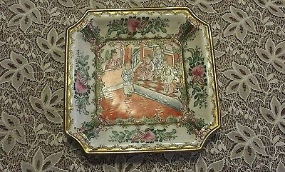 Chinese vintage/ antique hand painted plate,signed on the base