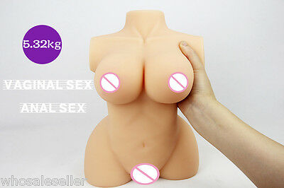Real Professional Sex Gadget Silicone Doll DISCOUNT Body 2 channels Toy