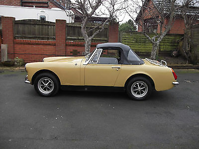 MG Midget. 1973. Desirable  Round Wheel Arch.  Tax Free.