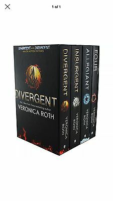 Divergent Series Box Set - Books 1-4 (Paperback), Collections, Brand New