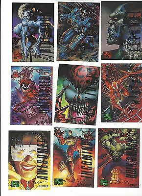 1995 Marvel Masterpieces Emotion Parallel