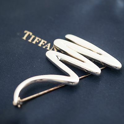 Tiffany & Co. Sterling Silver Paloma Picasso Zig-Zag Large Brooch