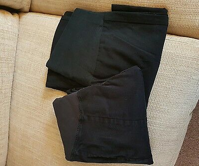 2 x maternity trousers H&M & Marks and Spencer