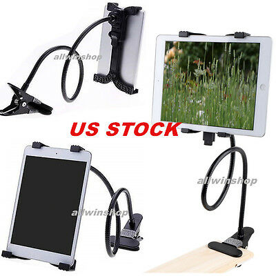 Gooseneck 360Lazy Bed Desk Stand Holder Mount For iPad 2 3 4 Air Mini Tablet MA
