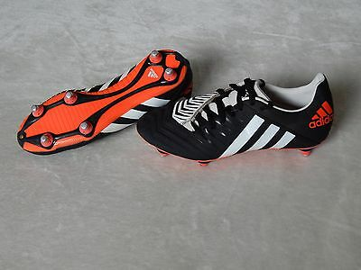Adidas Incurza Sg Black White Mens Rugby Boots Uk 8