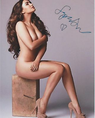 Sophie Simmons (Nude) Daughter of Gene Simmons Family Jewels RARE SIGNED RP 8X10