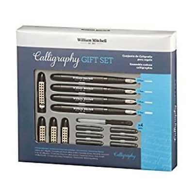 William Mitchell Complete 4 Pen Calligraphy Gift Set
