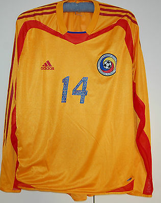 Romania Match Worn Shirt 2004-2006 Model