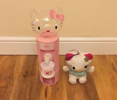 Hello Kitty Water Dispenser And Toy