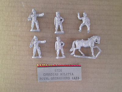 25mm   RAFM Miniatures Canadian Officers Mounted & Dismounted