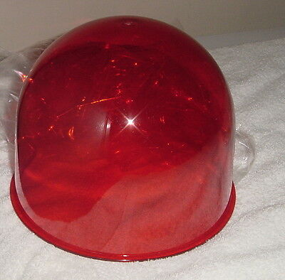 •price Slash• Federal Signal Vintage Red Beacon Ray Lt F1 Dome•fit:lg.17•174•176