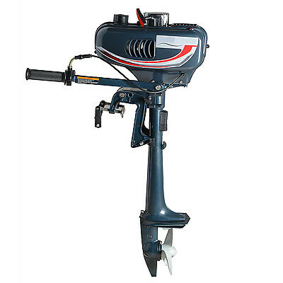 Outboard boat motor / 3.5 hp 2 Stroke Marine Yacht outboard motor Engines New