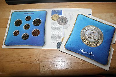 United Kingdom 1988 Brilliant Uncirculated 7 Coin Collection