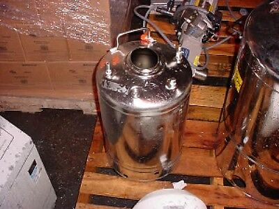7 Gallon 316L Sanitary Stainless Steel Pressure Tank