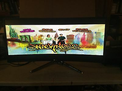 """BenQ XR3501 LED Backlit 2560 x 1080 Resolution - 35"""" Curved Gaming Monitor"""