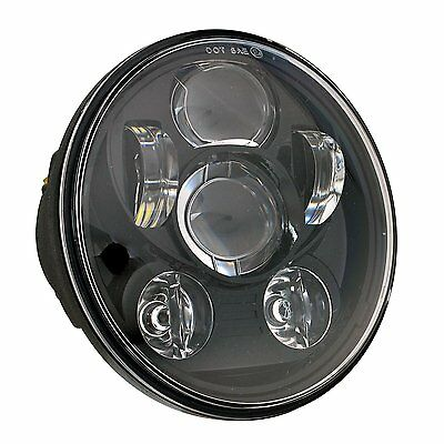 5-3/4 Daymaker Round LED Headlight Harley Davidson Kickfaire Motorcycle Lights