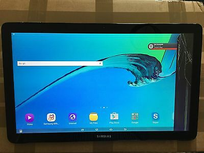 SAMSUNG Galaxy View 18.4  Black Digitizer (Touch Screen Glass) Only