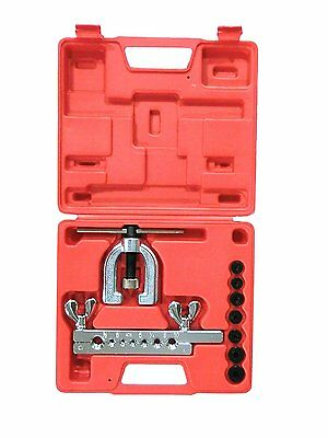 Slpro® Flaring Tool Brake Line Car Flanging Tool Double Bördelwerkzeug Kit NEW