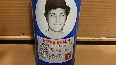 12oz Royal Crown Cola vintage/antique pop can with Steve Braun