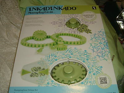 Inkadinkado Stamping Gear Deluxe Set, Unopened, Circle & Oval