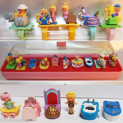 Mini Polly Pocket Ring Collecting Case Box 1989 Sammelbox Jewelry - Ring Pony