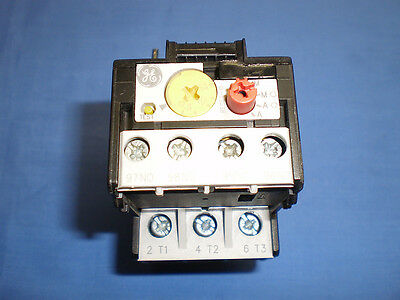 General Electric GE RT1T Overload Relay 17.5-22A Used