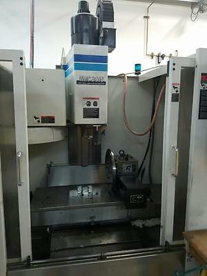 1995 Fadal VMC 3016HT CNC Vertical Machining Center Mill 4th Axis CT40 20HP USED
