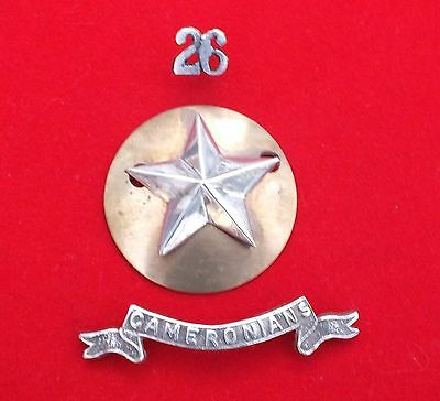 26th of Foot. Cameronians.