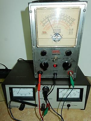 Vintage Eico Model 221 Vacuum Tube Voltmeter-Dc Scale Needs Cal, Others Work