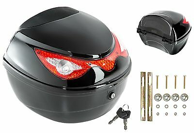 Motorcycle Top Case Motorbike Universal Scooter Back Rear Box Luggage Large Case