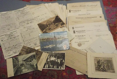 Quantity Of Letters Written In German 4 Vintage Post Cards 2 Pi