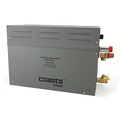 Coasts 3KW 240V with KS-120 Controller Steam Generator for Home Business Saunas