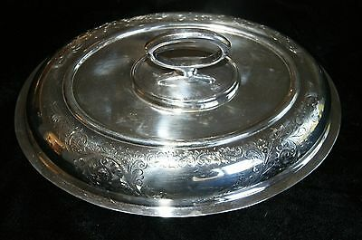 BIRKS  ELLIS RYRIE silverplate covered serving dish