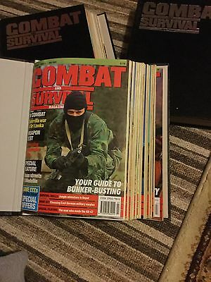 combat and survival magazines