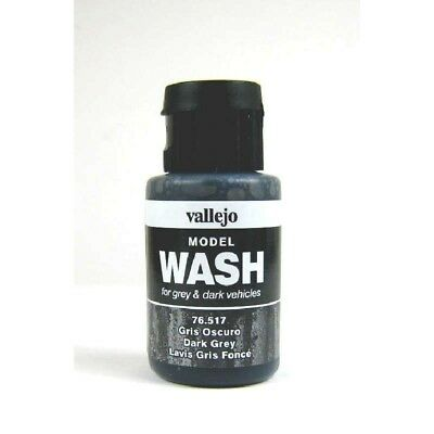 (12,54€/100ml) Vallejo Model Wash Dark Grey 35ml 76517 Farbe