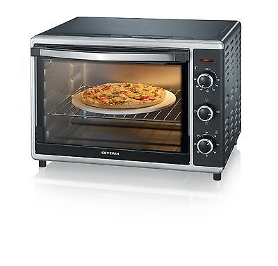 Severin Toast Oven with Convection 42 Litre 1800 Watt Black/ Silver -