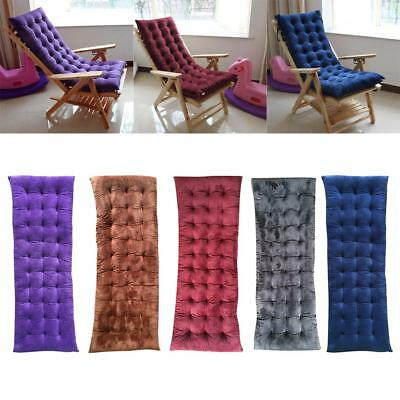 Garden Outdoor Lounge Chair Pad Thickened Non-slip Sofa Bench Cushion 5 Color
