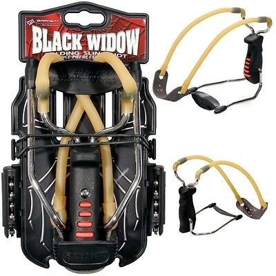 Barnett BLACK WIDOW Catapult / Slingshot + Ammo THE MOST POWERFUL IN THE WORLD!!