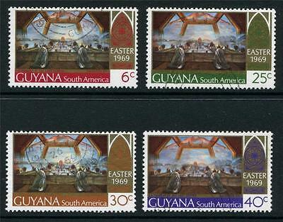 Guyana: 1969 Easter set of 4 stamps SG481-484 Fine Used M096