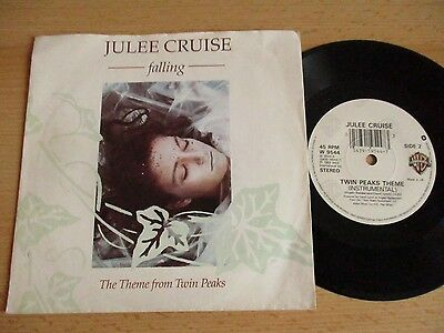 """Julee Cruise -Vinyl 7"""" (Ps) – Falling / Theme From Twin Peaks - Wb9544 - 1990"""
