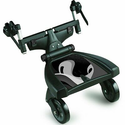 Dream On Me Deluxe Tag-A-Long Expandable Stroller Seg Board Black 462