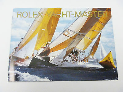 ROLEX YACHT-MASTER Instruction Booklet Manual ENGLISH: 2000-2007 - FREE SHIPPING