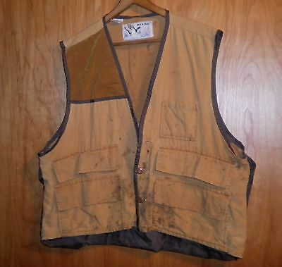 Vintage? Duck Bay Small Game Hunting Vest Hunter's Shooting Size Xl
