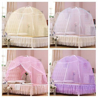 Lace Canopy Mosquito Net Bed Insect Mosquito Netting Twin Full Queen King Size