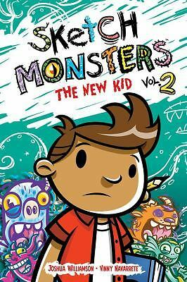Sketch Monsters Book 2: The New Kid  (ExLib)