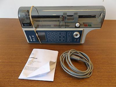Baxter PCAII Syringe pump with Warranty!