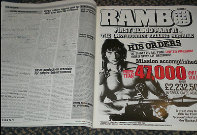 Who Dares Wins Lewis Collins,RAMBO First Blood poster,Sigourney Weaver,Ken Loach